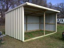basic loafing shed blueprints | SIZE: 12x24 loafing shed ...