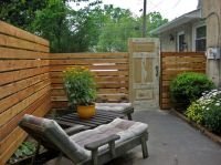 Cool Privacy Fence Ideas Diy for Patio Eclectic design ...
