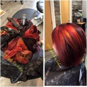 pinwheel coloring hair