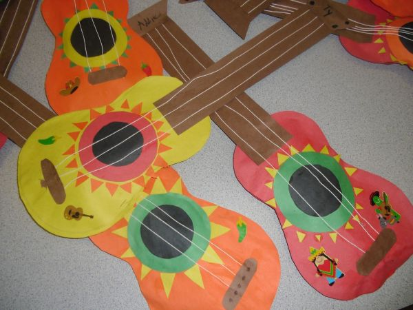 20 Guitar Craft For Preschoolers Pictures And Ideas On Meta Networks