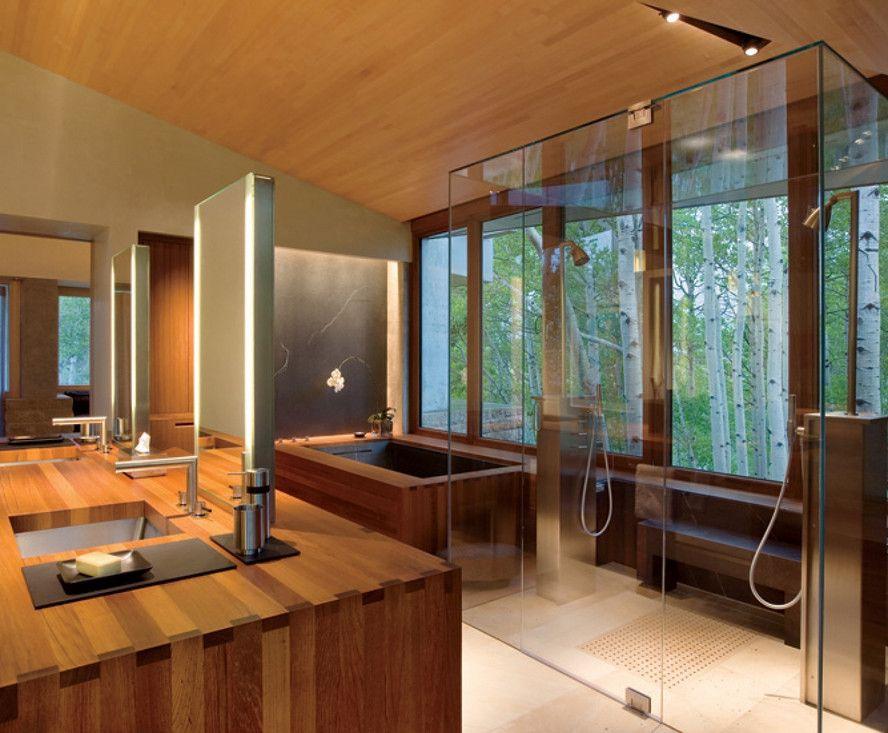Home Spa Room Design Ideas Hot Tubs & Jacuzzis Pinterest