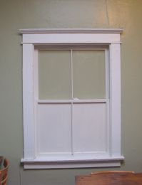 craftsman window - Google Search - exterior window molding ...