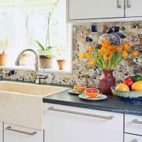 Make a mosaic backsplash! | Backsplash Ideas | Pinterest ...