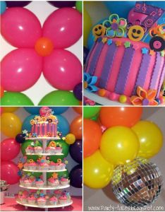 Party tales birthday   disco fun the grooviest event of also best images on pinterest rh