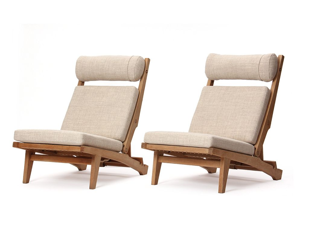 Low Lounge Chair by Hans J. Wegner
