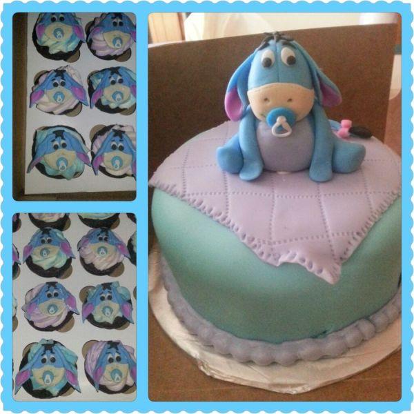 Disney Baby Shower Cake Cupcakes