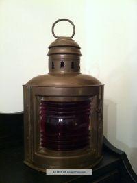 Vintage Brass Ship Lantern Antique Nautical Brass Ship ...