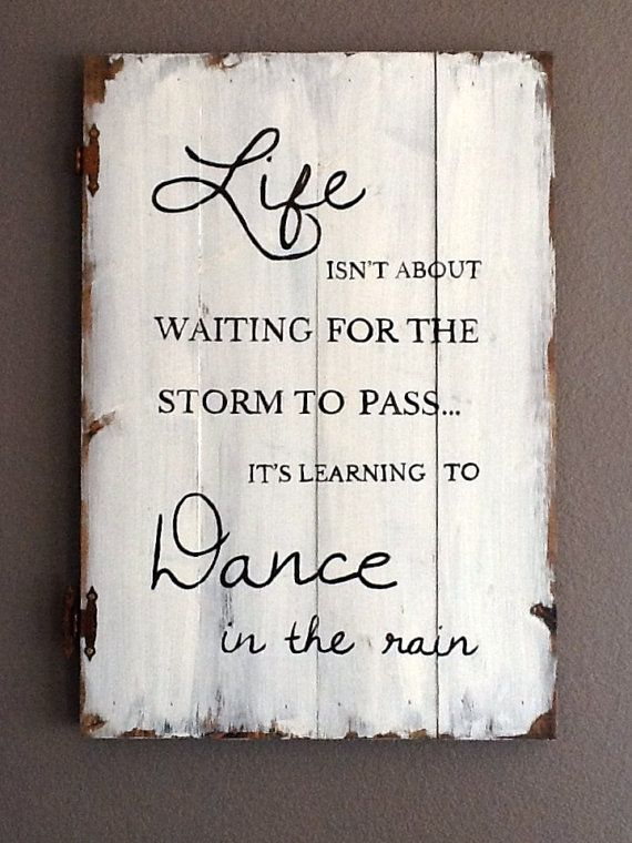 Large Distressed Wood Sign Art Etsy Shop Love This Quote