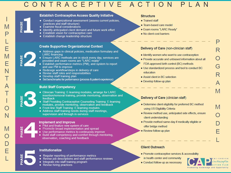 Implementing Cap Contraceptive Action Plan