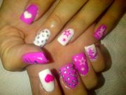 general complex pink white nail