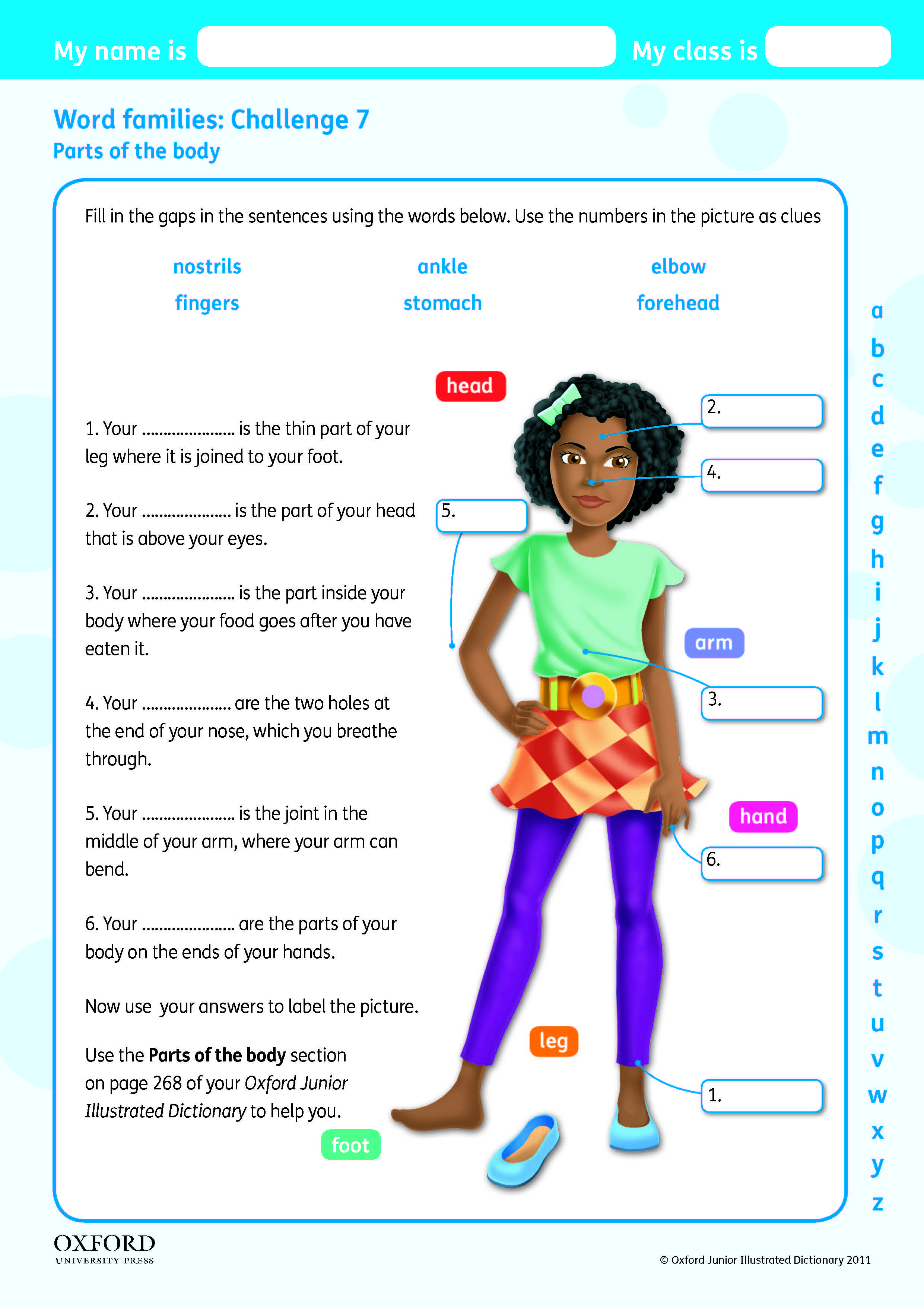 Download Your Free Oxford Junior Illustrated Dictionary