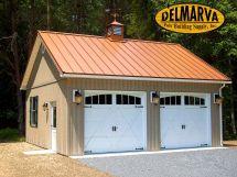 Metal Pole Barn Garage