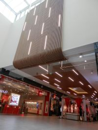 Increasing turnover in shopping malls through warm ...