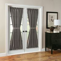 Montego Solid Room Darkening Rod Pocket Single Curtain ...