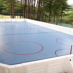 Golf Cart Zamboni Wiring Diagram For Chamberlain Garage Door Opener Hockey Rink Set Up At Camp With Prowall Dasher Boards