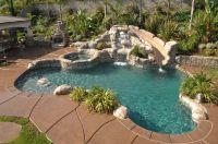 Pool with rock slide | Pools | Pinterest | Backyards ...
