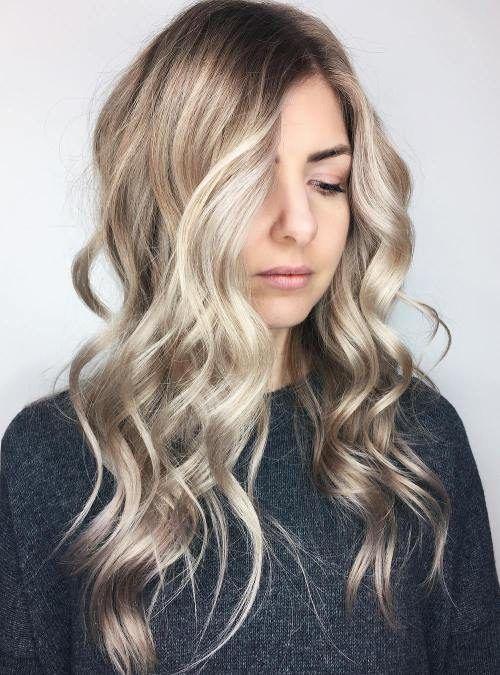 2017 2018 Frisuren Für Lange Blonde Haare Long Hairstyles