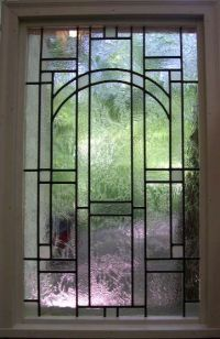 Masterson Fine Arts - Clear Textured Mission-Style Leaded ...