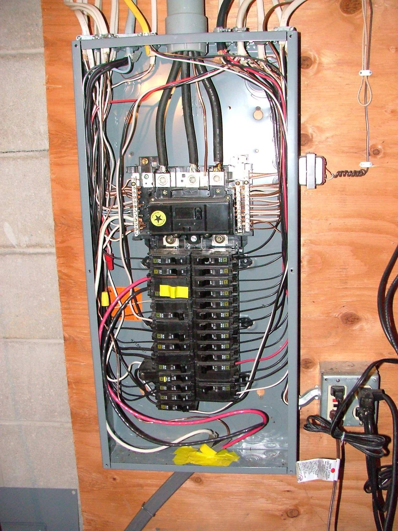 Wiring House Panel Box