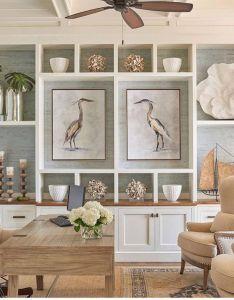 Cool gorgeous coastal living room decorating ideas https homedecort also rh pinterest