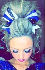 maryland twisters cheer hair