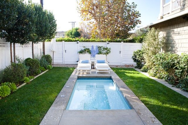 Minimalist DIY Backyard Landscaping With Small Pools Ideas On A