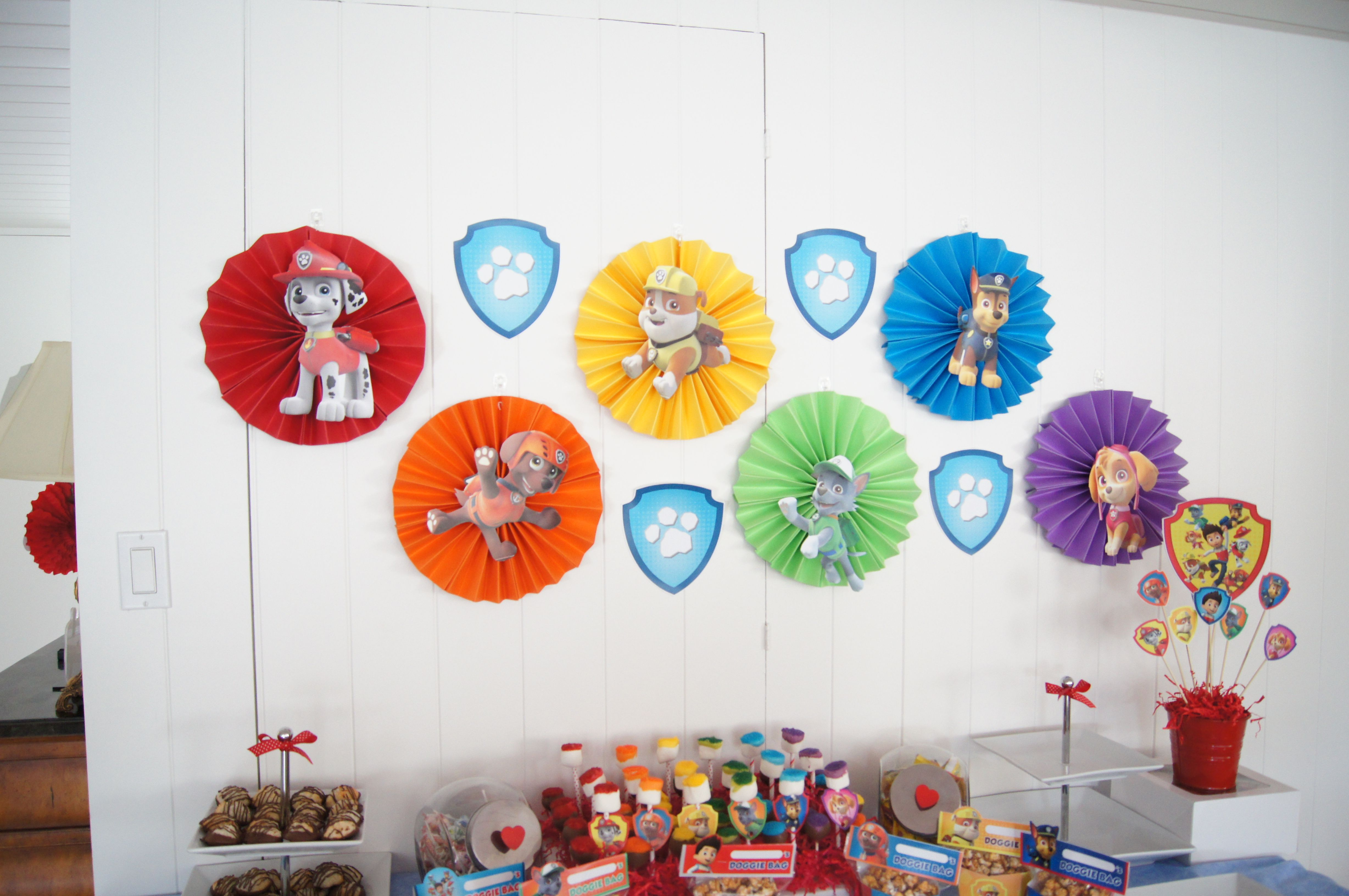 Dogs to the Rescue! Paw Patrol Party Ideas