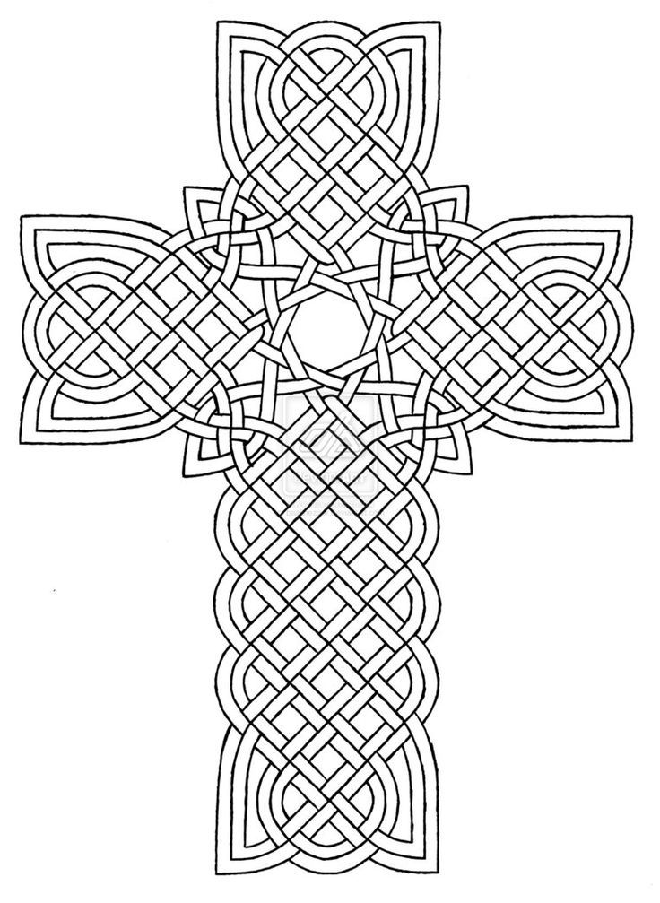 picture relating to Printable Crosses titled 20+ Printable Crosses Coloring Web page Types Strategies and Layouts