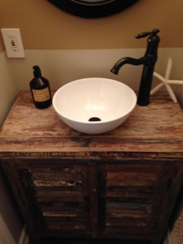 "13x13"" Round Bowl Porcelain Ceramic Bathroom Vessel Vanity Sink"
