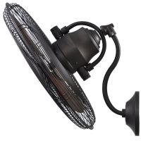 Shop Harbor Breeze 18-in 3-Speed Oscillating Fan at Lowes ...