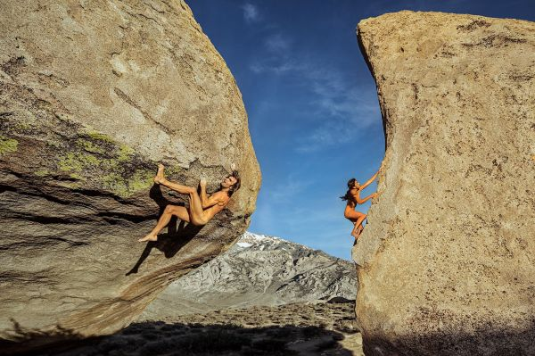 Chris Sharma & Daila Ojeda Boone Speed Espn Mag