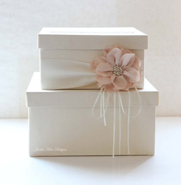gift card box wedding