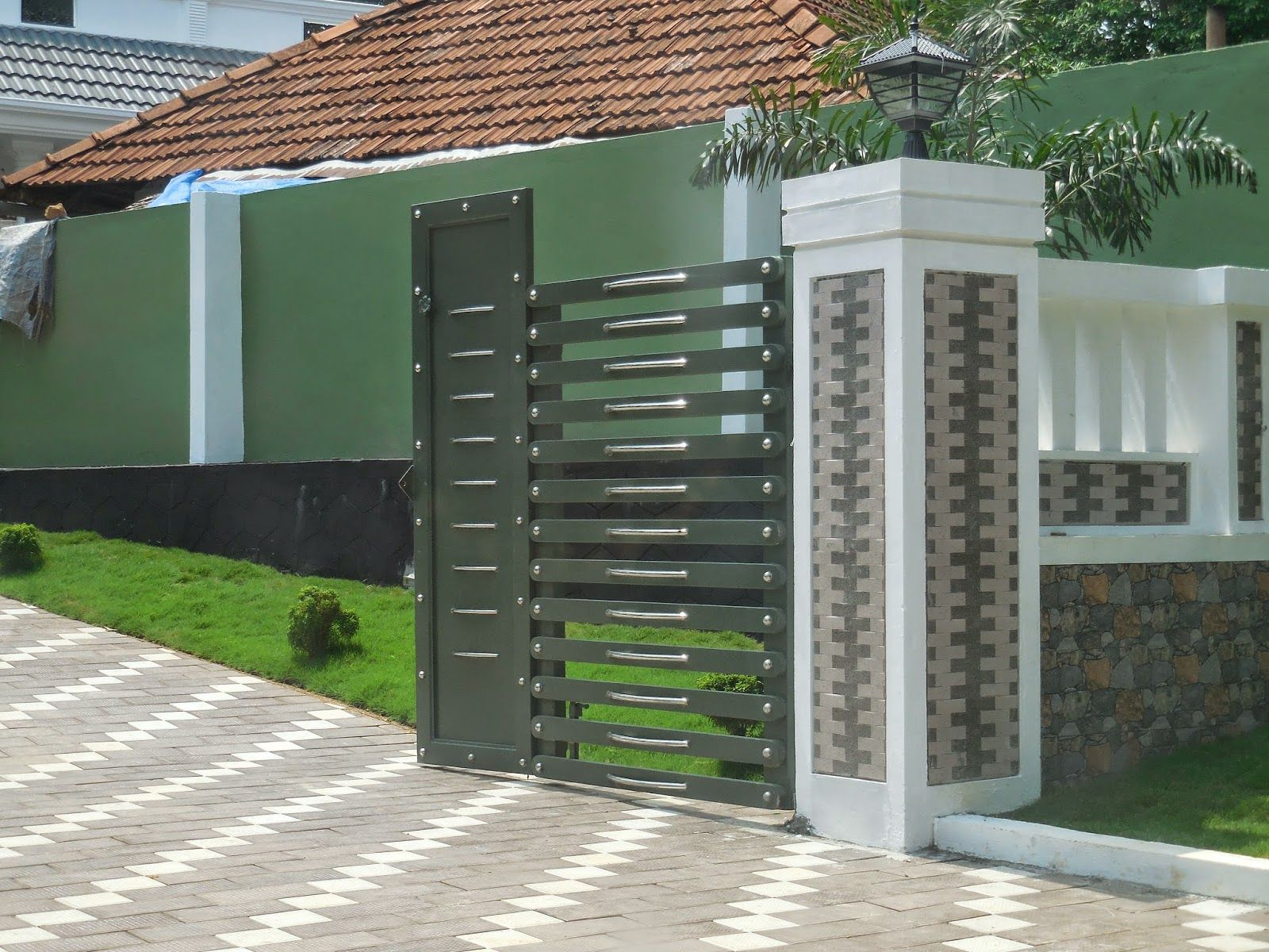 House Fence Design In Kerala Google Search For My Fence