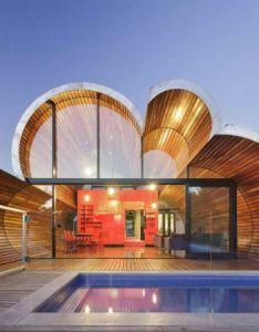 Architectural house design idea also exotic buildings houses pinterest rh es