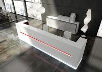 Modern White Reception Desk Design Led Reception Desks ...