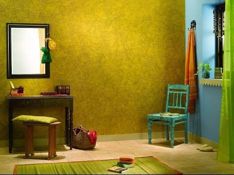 Asian paints wall  disclaimer we do not own any of these pictures graphics also crinkle effect min youtube faux  decorative painting rh pinterest