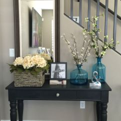 Sofa Tables Pinterest Chairs And Sofas For Sale Entry Way Table Broyhill Repurposed With Annie