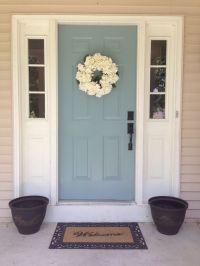 Palladian Blue Door & Paint Color: Palladian Blue By ...