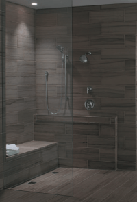 Universal Design Shower from Builder Fish. Prepare to age ...