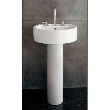 Chipperfield pedestal sink  Photo small bathroom