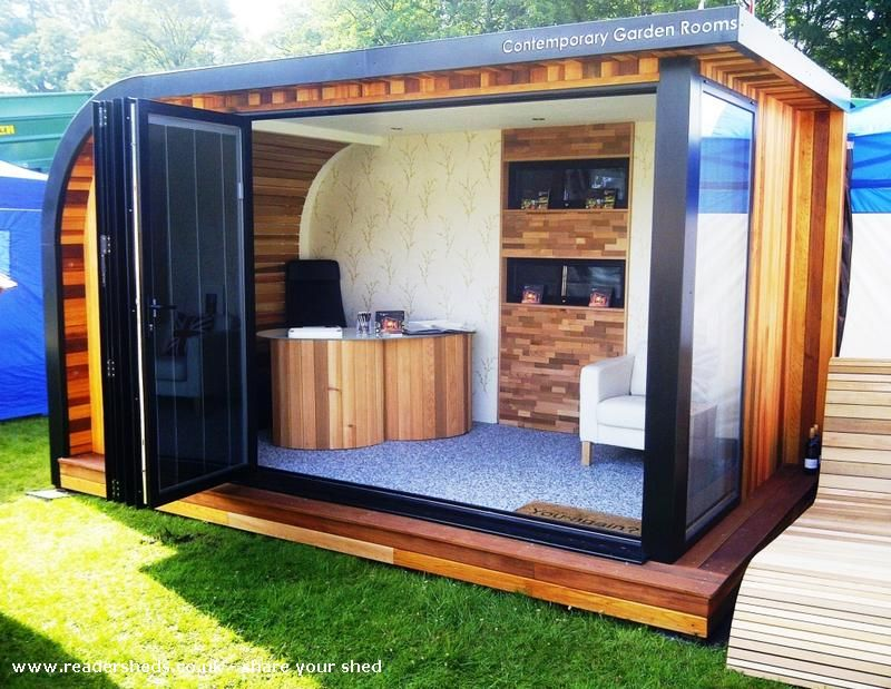 Contemporary Garden Room Garden Office Shed From SME Business