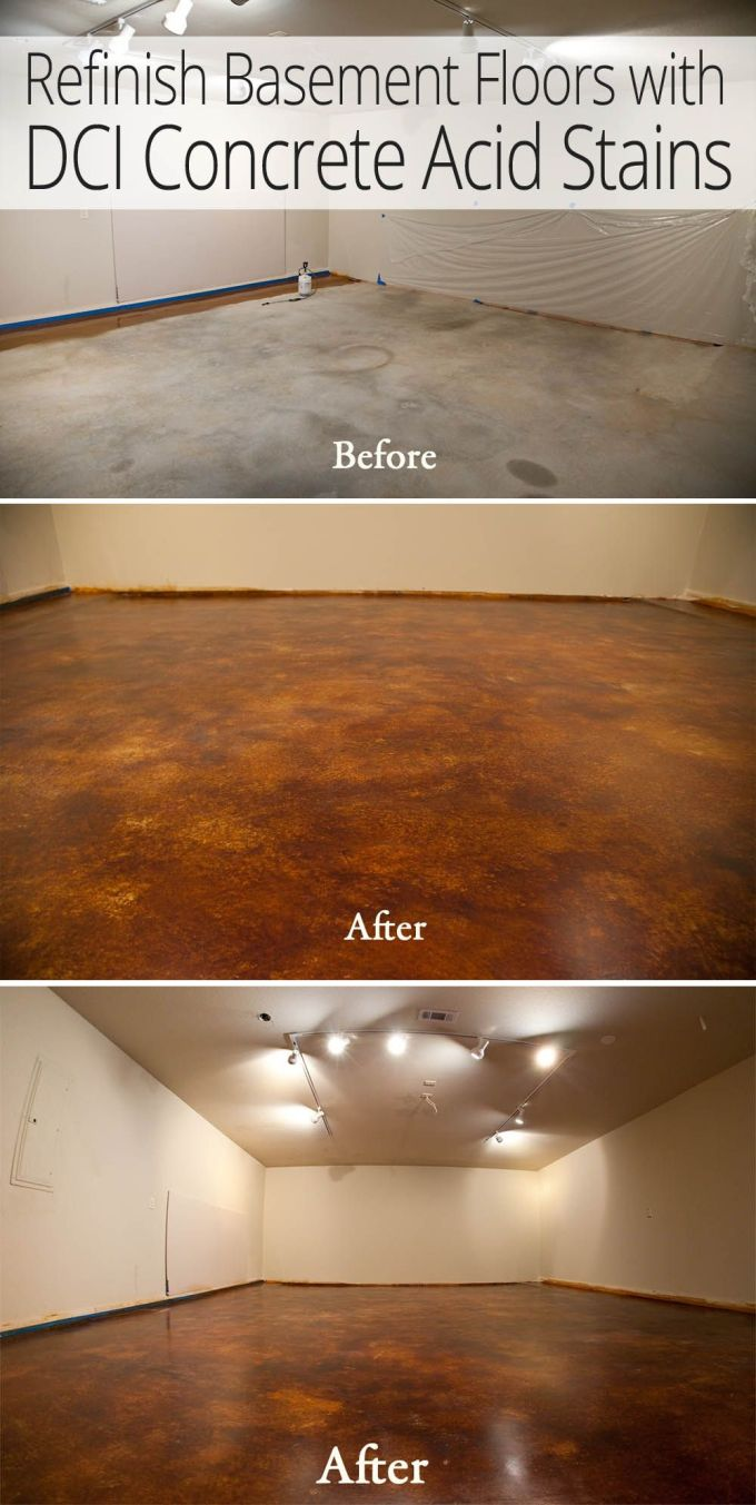 How To Refinish Acid Stained Concrete Floors | Wikizie.co How To Stain Concrete Bat Floor on how can i stain concrete, paint indoor concrete floors, how do you stain concrete, painted concrete floors,