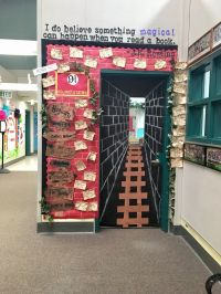Read-A-Thon door! #harrypotter #6thgrade #platform9and3/4 ...