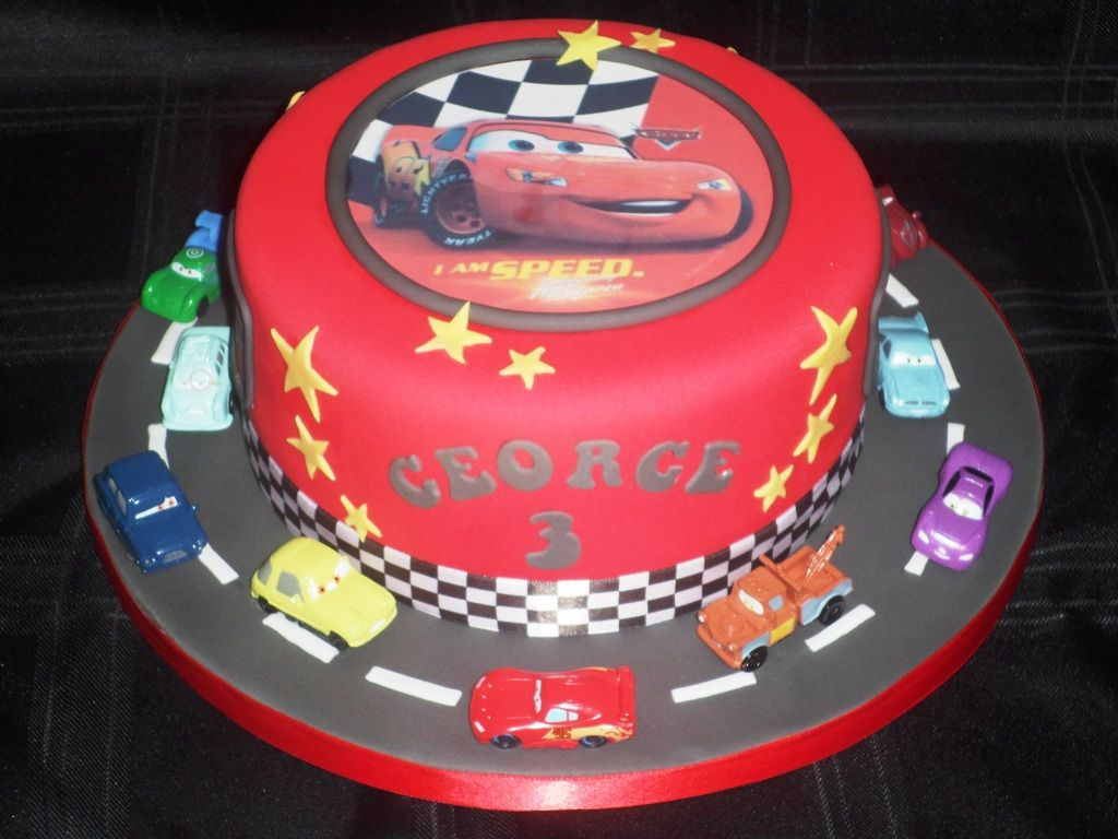 Disney Cars Cake Toppers Ideas