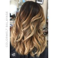 Bronde Balayage technique blonde natural hair painting ...