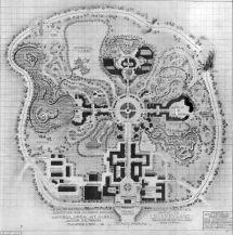 Walt Disney Theme Park Original Plan