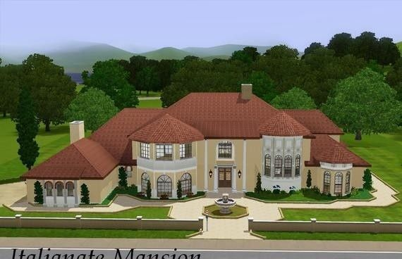 Mansions Sims3 Italianate Mansion Game Archives Free Game