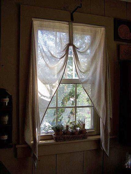 Primitive Loop Curtains Decorating Ideas Pinterest