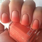 """ombre nails used essie """"tart deco"""""""
