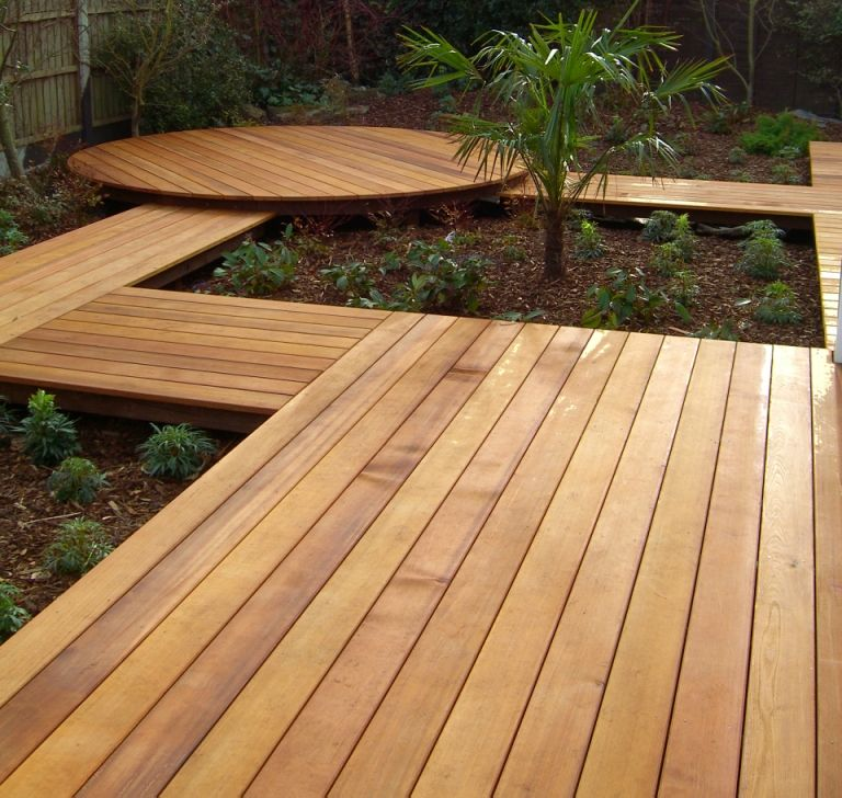 Back Garden Decking Ideas Paths Fences Gates Steps